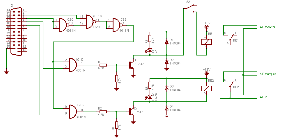 spiffmame power relay circuit