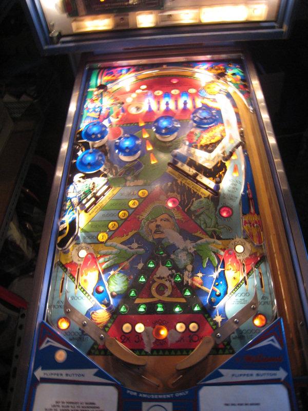 Symlink Dk Spaceman Spiff S Pinball Machine
