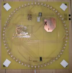 the PCB for the Bob-clock