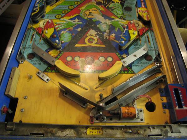 SYMLiNK DK - Spaceman Spiff's Pinball Machine