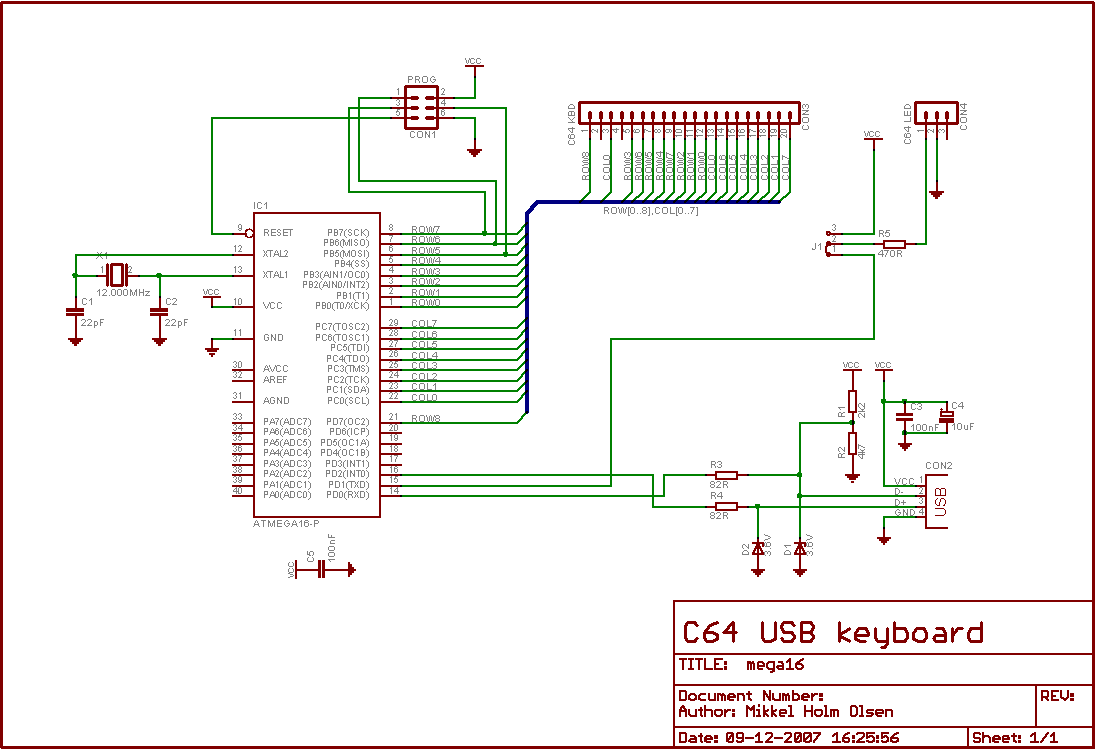C64 Usb Keyboard To Wiring Diagram Circuit
